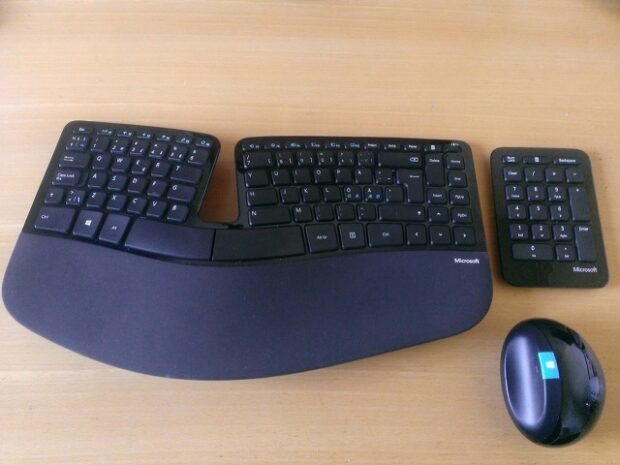 Microsoft Sculpt Ergonomic Desktop 5 Month After