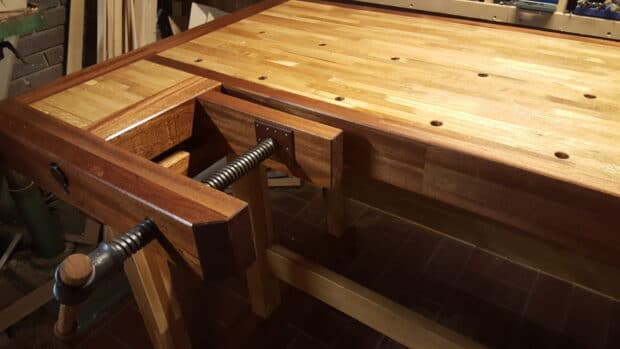 Building A Traditional Danish Woodworking Workbench